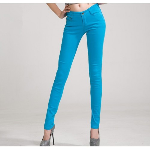 Colored Skinny Pants