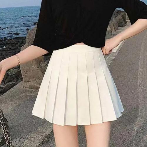 Drippy Chic Mini-Skirt