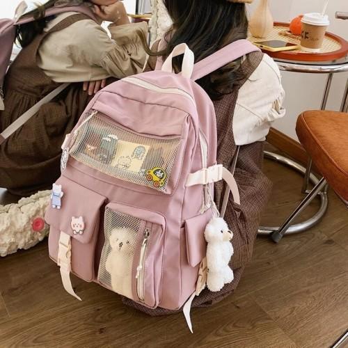 Kawaii Waterproof Backpack.