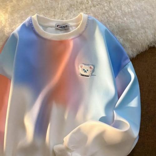 Tie Dye Bear Sweater